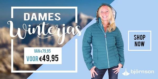 Winterjas dames Lis - van €79,95 voor €49,95!