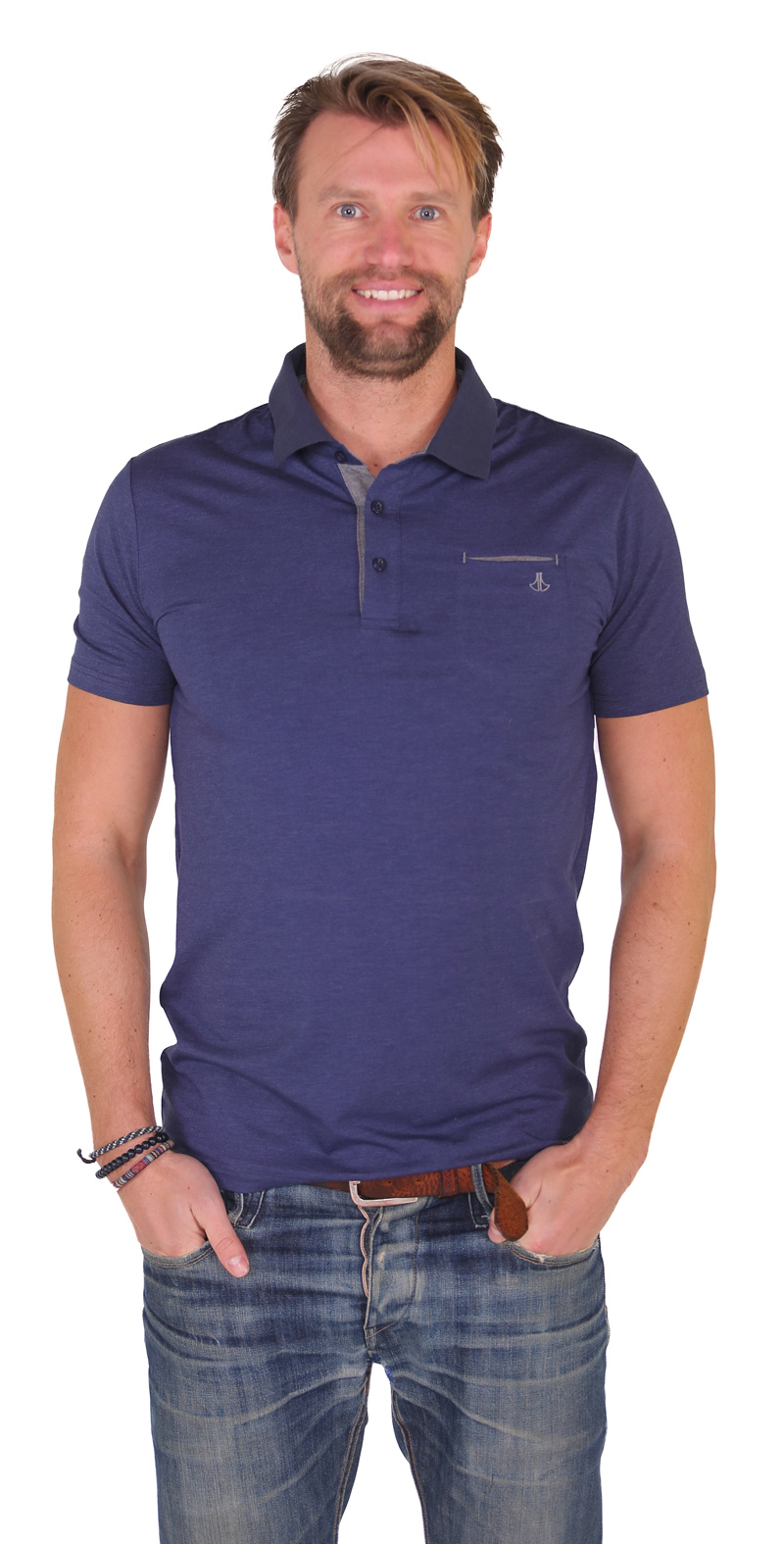 Polo Shirt Heren - Jusin