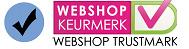 Betrouwbare Webshop! Aangesloten bij Webwinkel Keurmerk