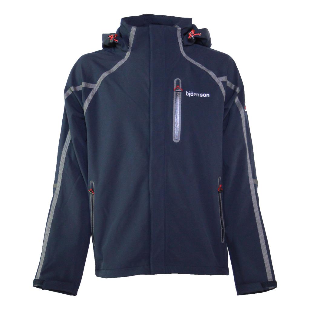 Softshell jas heren donkerblauw - Malte