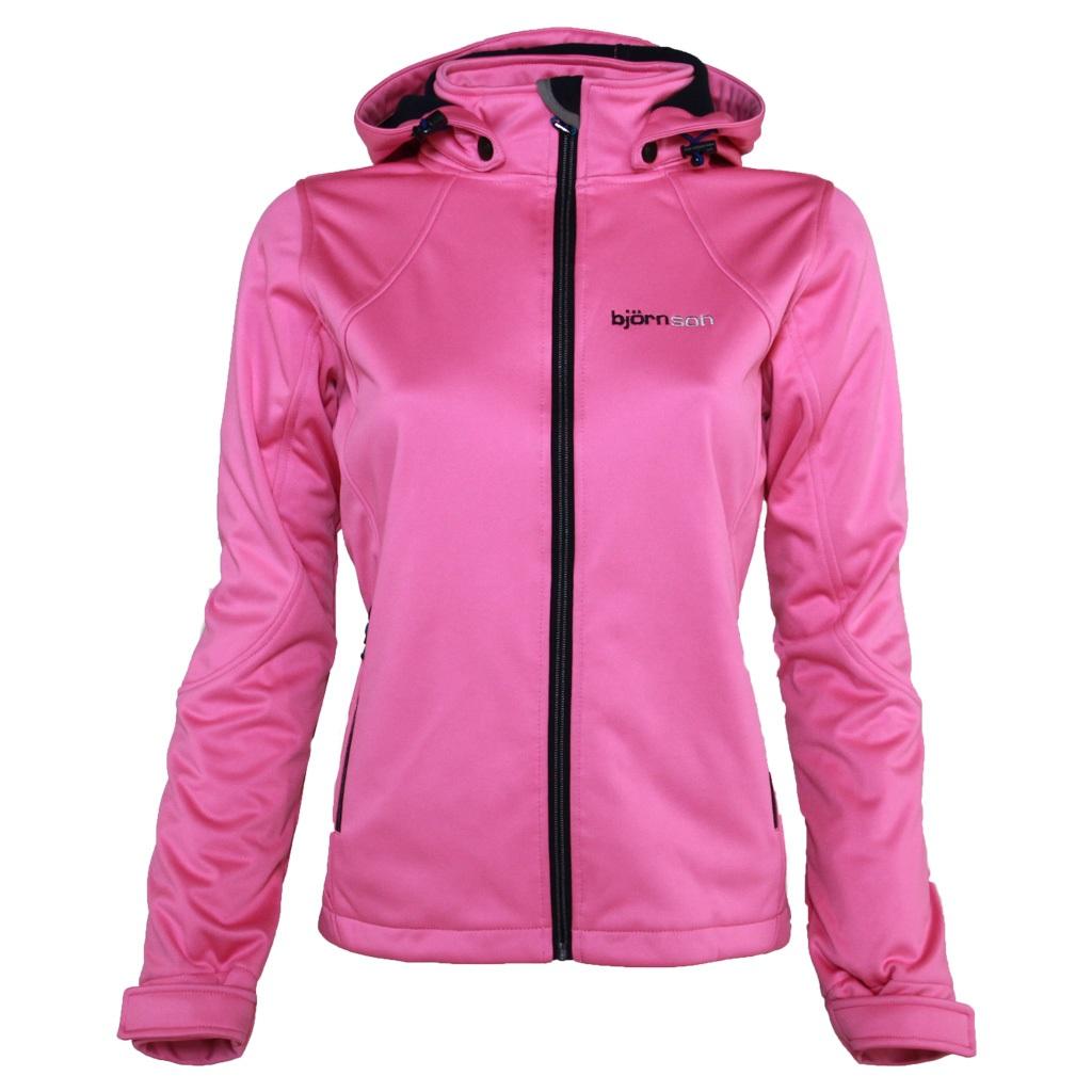 Softshell jas dames roze - Mabel