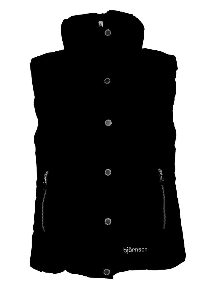 Bodywarmer dames zwart - Ronja