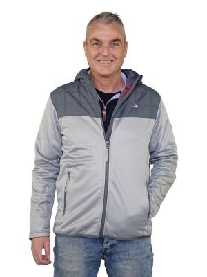 Sportief Vest Heren Winddicht Grijs - Sixten