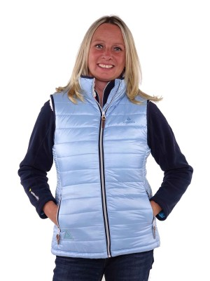 Bjornson Bodywarmer Dames Lichtblauw - Brendy