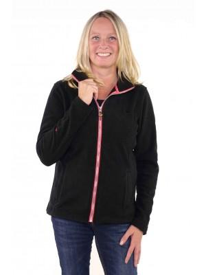 Bjornson Fleece Vest Dames Zwart - Jenna
