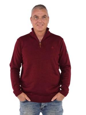 Bjornson Pullover Heren - Bordeauxrood - Joakim