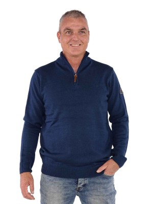 Bjornson Pullover Heren - Denimblauw - Joakim