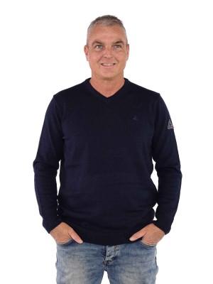 Bjornson Pullover V-hals Heren -  Donkerblauw - Lasse