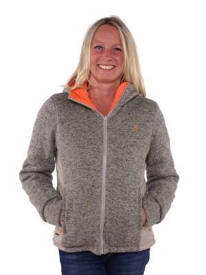 Bjornson Vest Winddicht Reversible Dames Grijs Oranje - Swann
