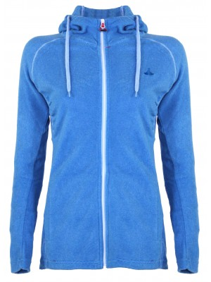 Hooded Fleece Vest 4 Seizoenen Dames Lichtblauw - 36-56 - JOLINA