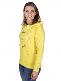 BJØRNSON Hooded Sweater 4 Seizoenen Dames Geel - 36-52 - JULIA