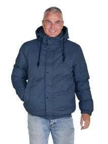 BJØRNSON Winterjas Warm Gewatteerd Heren Donkerblauw - S-6XL - MARCO