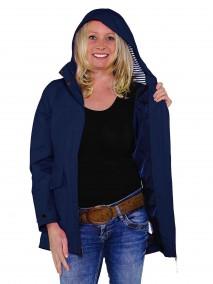BJØRNSON Zomerjas (regenjas) Dames Waterdicht Donkerblauw