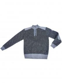 BJØRNSONFijnGebreid Pullover (fleece-gevoerd)Heren Antraciet Grijs - S-4XL - THYMO