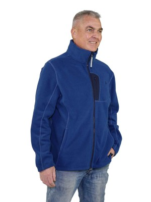 Fleece Vest Heren Blauw - Valdemar