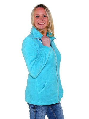 Fleece Vest Coral Dames Warm Zacht Blauw Atol