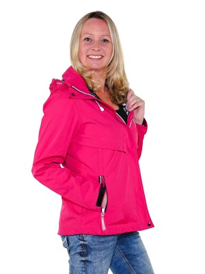 Softshell Jas Dames Waterafstotend Fuchsia