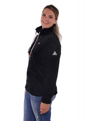 Bjørnson Fleece Vest Super Soft Dames Zwart - Elin