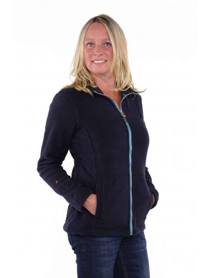 Bjornson Fleece Vest Dames Donkerblauw - Jenna