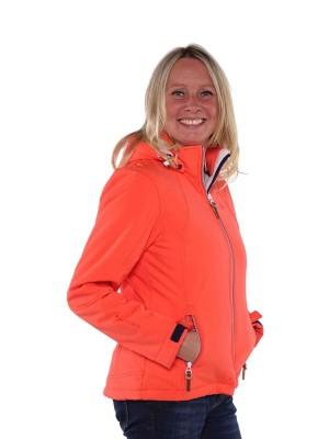Bjornson Softshell Jas Teddy Gevoerd Dames Oranje - Nora