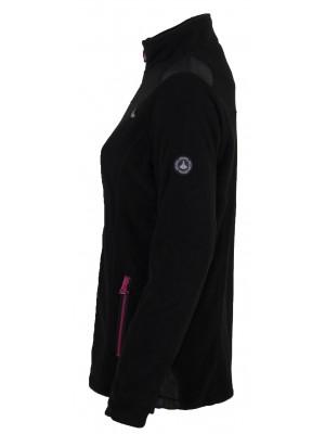 Bjornson Fleece Vest Winddicht Dames Zwart - Amber