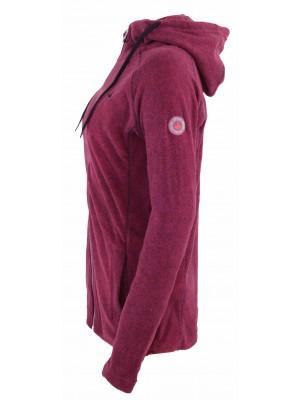 Hooded Fleece Vest 4 Seizoenen Dames Roze - 36-56 - JOLINA