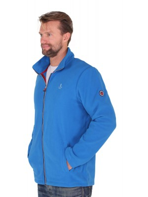FLEECE VEST HEREN blauw royaal - Maks