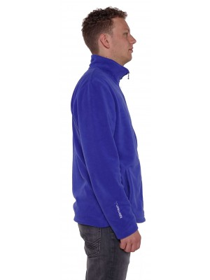 FLEECE VEST HEREN blauw - Mark