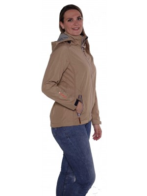 SOFTSHELL JAS DAMES taupe - Silje