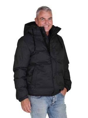 BJØRNSON Winterjas Warm Gewatteerd Heren Zwart - S-6XL - MARCO