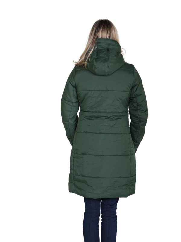 Winterjas Dames Warm gewatteerd Groen 36 56 FIA