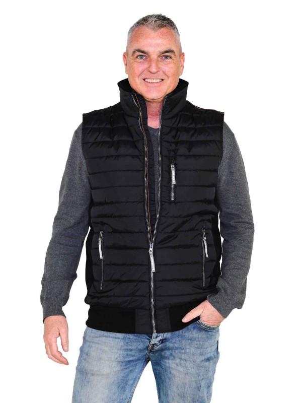 BJØRNSON Bodywarmer 4 seizoenen Heren Zwart - Maat - ALEC