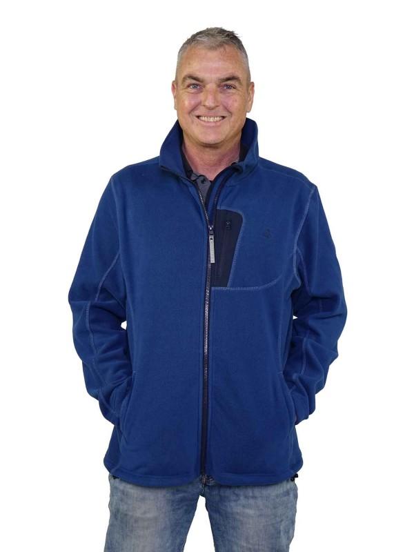 Fleece Vest Heren Blauw - Valdemar
