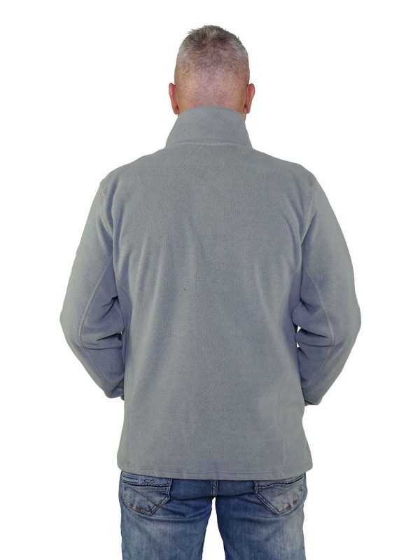 Fleece Vest Heren Grijs - Valdemar