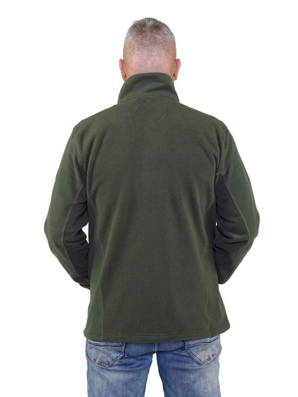Fleece Vest Heren Olijfgroen - Valdemar