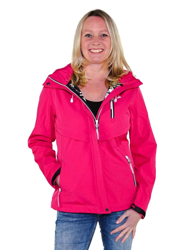 Softshell Jas Dames Waterafstotend Fuchsia - Thyra