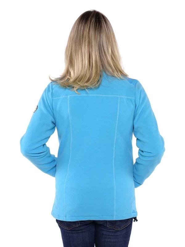 Bjornson Fleece Vest Winddicht Dames Blauw - Amber