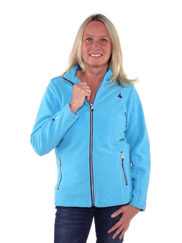 Bjornson Fleece Vest Winddicht Dames Blauw Atol - Amber