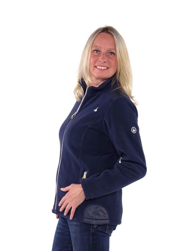 Bjornson Fleece Vest Winddicht Dames Donkerblauw - Amber