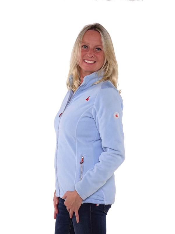 Bjornson Fleece Vest Winddicht Dames Lichtblauw - Amber
