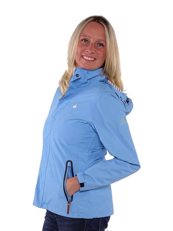 Bjornson Regenjas Dames Lichtblauw - Berit
