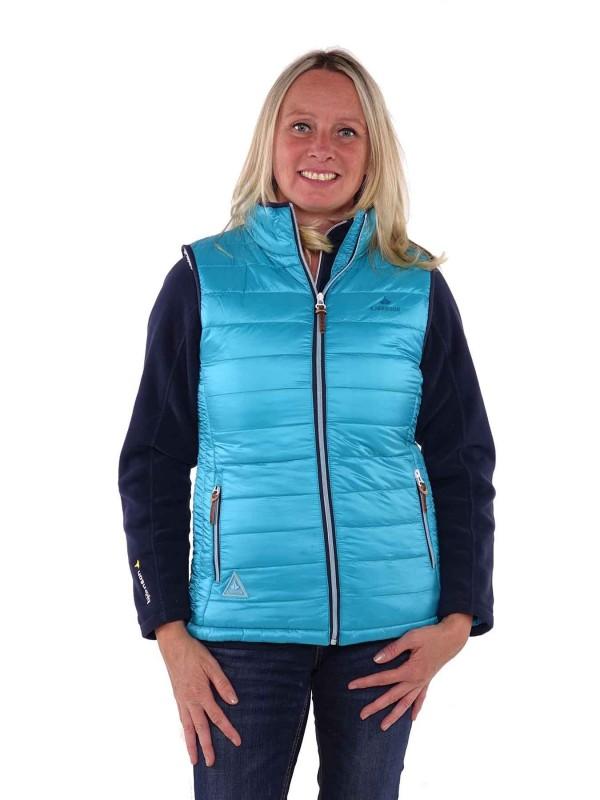 Bjornson Bodywarmer Dames Blauw Aqua - Brendy