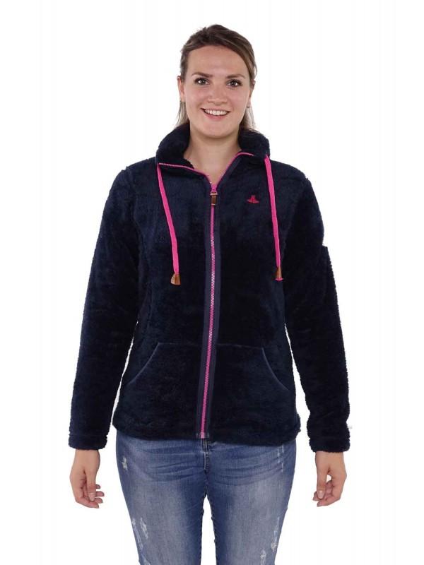 BJØRNSON Fleece Vest Super Soft Dames Donkerblauw - Elin