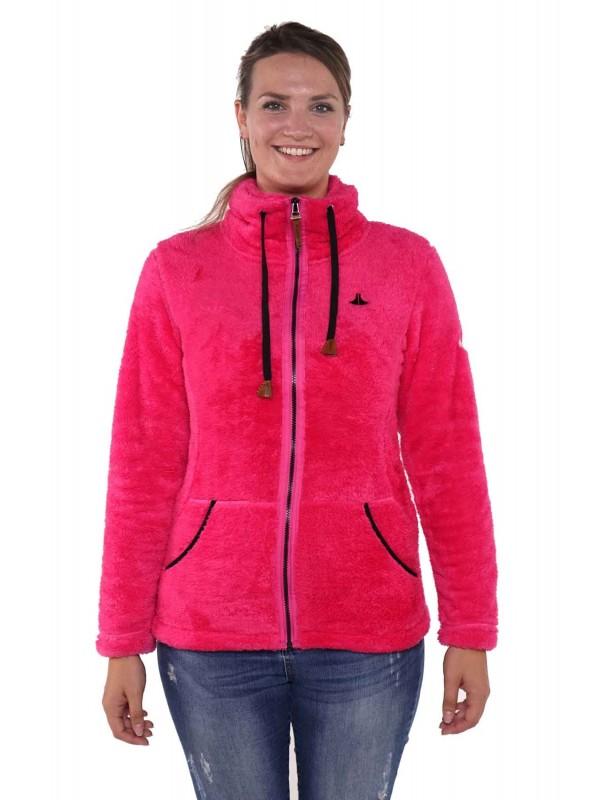 Coral fleece vest - Dames - Roze Fuchsia - Bjornson - Elin