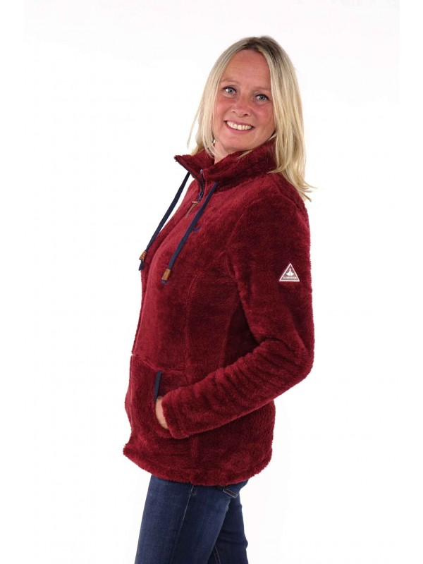 Bjørnson Fleece Vest Super Soft Dames Phlox - Elin