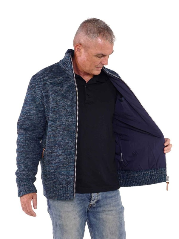 Bjørnson Vest WInddicht Heren Denim Blauw - Even