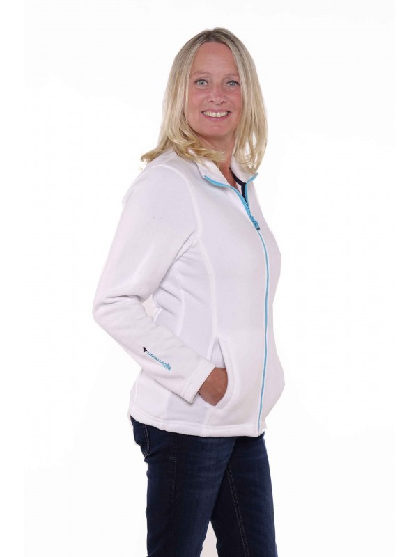 Bjornson Fleece Vest Dames Wit - Jenna