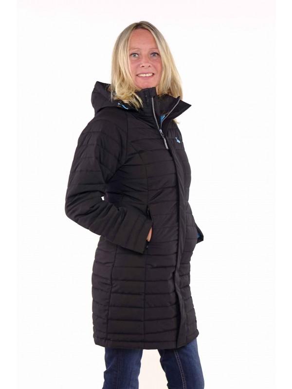 Bjørnson Winterjas Parka Dames Zwart - Ragne