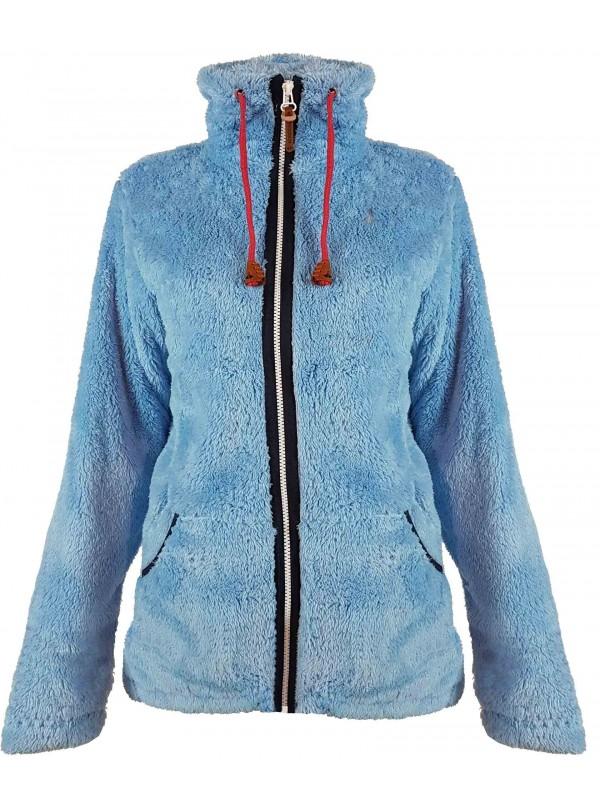 Fleece Trui Dames.Coral Fleece Vest Lichtblauw Dames Kopen Bjornson Nl 29 95