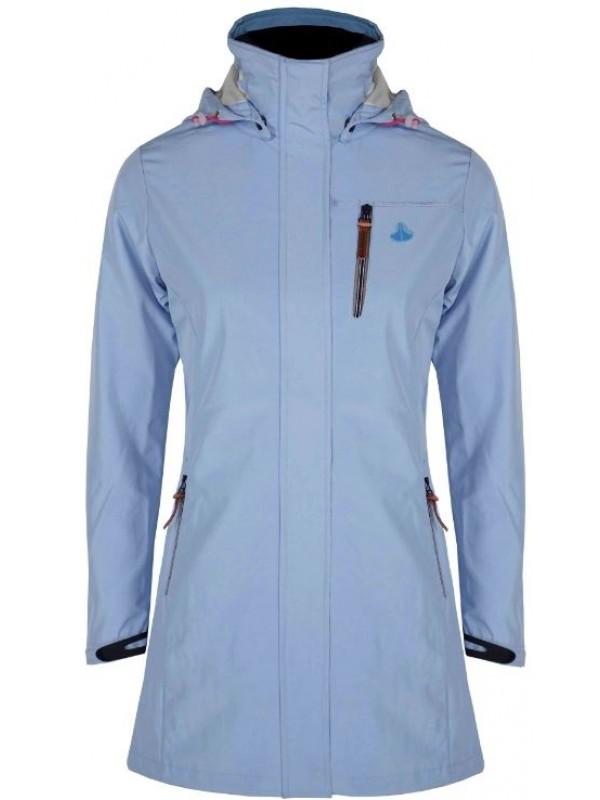 lichtblauwe jas dames